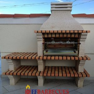 barbecues en brique refractaire page 4 ffbarbecues. Black Bedroom Furniture Sets. Home Design Ideas