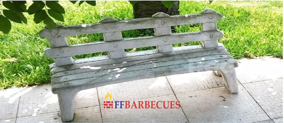 banc en pierre reconstitu e 18 ffbarbecues. Black Bedroom Furniture Sets. Home Design Ideas