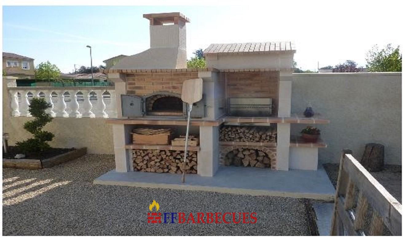 barbecue en b ton l j 800 ffbarbecues. Black Bedroom Furniture Sets. Home Design Ideas