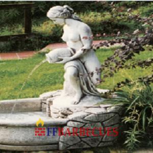 Fontaines en pierre reconstituee ffbarbecues - Fontaine de jardin pierre reconstituee ...
